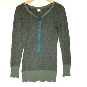 Free People Green Sweater M Top